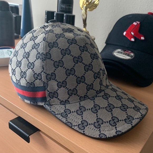 341d7b0a9c1 Gucci Canvas Baseball Hat
